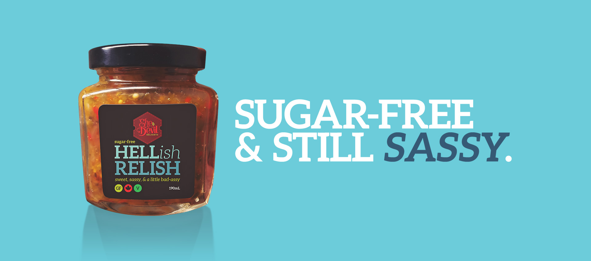 hellish relish sugar free