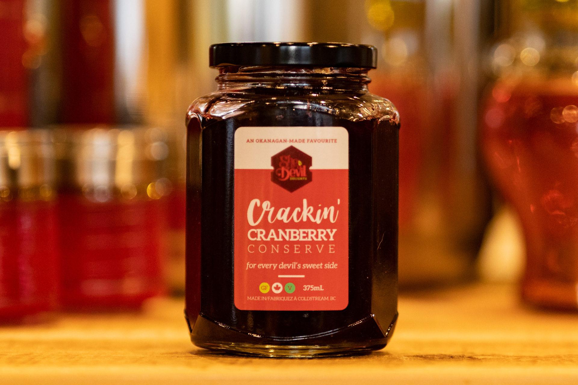 Crackin' Cranberry Conserve