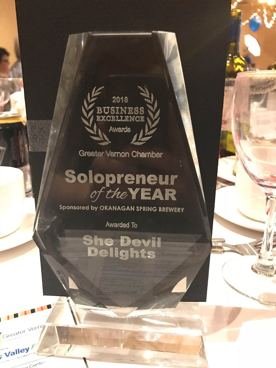 Vernon Entrepreneur of the Year